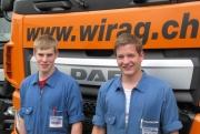 Prüfungserfolge für WIRAG Lehrlinge