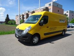 Post CH AG Bern _Lieferwagen Renault Master