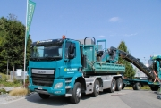 A. Hürlimann Bau AG mit neuem DAF CF Construction