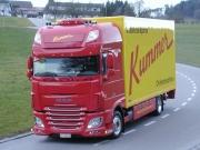 Kummer mit erstem DAF Euro 6 Lastwagen