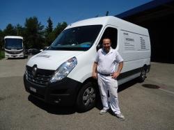 Mimmo Bauunternehmung AG Winterthur_Lieferwagen Renault Master